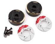 """Samix Traxxas TRX-4 """"Heavy"""" Brass Portal Cover & Scale Brake Rotor Set   product-also-purchased"""