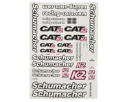 Schumacher CAT K2 Decal Sheet | product-also-purchased