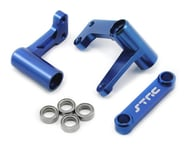 ST Racing Concepts Aluminum Steering Bellcrank Set (w/bearings) (Blue) | product-related
