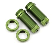 ST Racing Concepts Aluminum Threaded Front Shock Body Set (Green) (2) (Slash) | product-related
