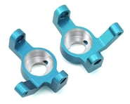 ST Racing Concepts Wraith/RR10 Aluminum V2 Steering Knuckle Set (2) (Blue) | product-related