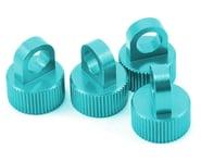 ST Racing Concepts Aluminum Shock Cap Set (Blue) (4) | product-related