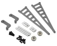 ST Racing Concepts DR10 Aluminum Wheelie Bar Kit (Gun Metal) | product-related