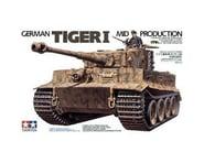 Tamiya Tiger I Mid Production 1/35 Tank Model Kit   product-related