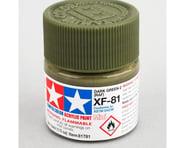 Tamiya XF-81 Flat Dark Green Acrylic Paint (10ml) | product-related