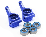 Traxxas Aluminum Steering Blocks w/Ball Bearings (Blue) (2) | product-related