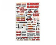 Traxxas E-Maxx Decal Sheet | product-related