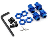 Traxxas Aluminum 17mm Wheel Adapter Set (Blue) (4) | product-also-purchased