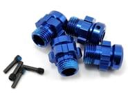 Traxxas 17mm Aluminum Splined Wheel Hub Set (Blue) (4)   product-related