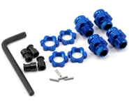 Traxxas Aluminum 17mm Wheel Adapter Set (Blue) (4) | product-related