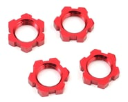 Traxxas X-Maxx 17mm Splined Wheel Nut (Red) (4)   product-related
