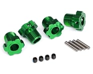 Traxxas 17mm Splined Wheel Hub Hex (Green) (4)   product-related