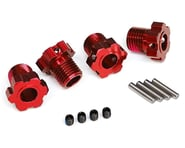 Traxxas 17mm Splined Wheel Hub Hex (Red) (4) | product-related