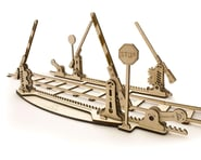 UGears Rails with Crossings Wooden 3D Model | product-related