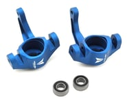 Vanquish Products Aluminum Steering Knuckle Set w/Bearings (2) (Blue) | product-related