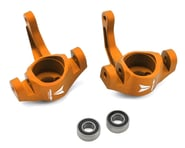 Vanquish Products Aluminum Steering Knuckle Set w/Bearings (2) (Orange) | product-also-purchased