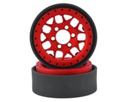 Vanquish Products KMC XD127 Bully 1.9 Beadlock Crawler Wheels (Red) (2) | product-also-purchased