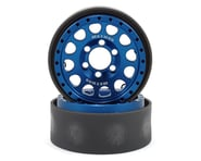 Vanquish Products Method 105 1.9 Beadlock Crawler Wheels (Blue/Black) (2) | product-also-purchased
