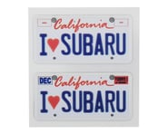 WRAP-UP NEXT REAL 3D U.S. Licence Plate (2) (I LOVE SUBARU) (11x50mm) | product-also-purchased