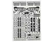 Xray XB8 Sticker Sheet (White) | product-also-purchased