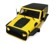 Xtra Speed Jeep Wrangler Hard Plastic Body Kit (Yellow) (313mm) | product-also-purchased