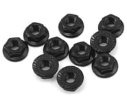 Yeah Racing 4mm Aluminum Serrated Lock Nut (10) (Black) | product-also-purchased