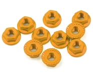 Yeah Racing 4mm Aluminum Serrated Lock Nut (10) (Gold) | product-also-purchased