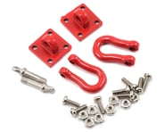 Yeah Racing 1/10 Crawler Scale Heavy Duty Shackle w/Mounting Bracket (Red) (2) | product-also-purchased