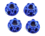 Yeah Racing 4mm Aluminum Serrated Wheel Lock Nut (4) (Dark Blue) | product-also-purchased