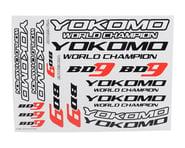 Yokomo BD9 Logo Decal Sheet   product-related