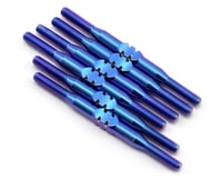 175RC B6.1/B6.1D Titanium Turnbuckle Set (Blue)