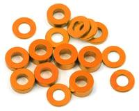 175RC M3 Ball Stud Washers (16) (Orange) (Kyosho Ultima RB6.6)