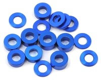 175RC M3 Ball Stud Washers (16) (Blue) (Losi 22 3.0)