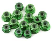 175RC B6.3 Aluminum Nut Kit (Green) (Team Associated RC10 B6.3)