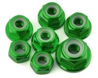 175RC Team Associated SR10 Aluminum Nut Kit (Green) (7)