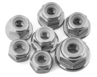 175RC Team Associated SR10 Aluminum Nut Kit (Silver) (7)