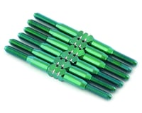 175RC Associated SR10 Titanium Turnbuckle Set (Green) (6)