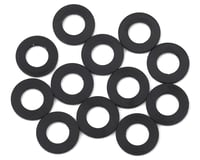 1UP Racing 3x6x0.25mm Precision Aluminum Shims (Black) (12) (Team Durango DEX210F)