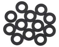 1UP Racing 3x6x0.25mm Precision Aluminum Shims (Black) (12)