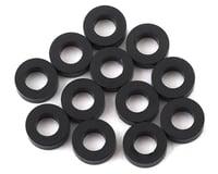 1UP Racing Precision Aluminum Shims (Black) (12) (2mm) (XRAY XB4)