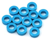 1UP Racing Precision Aluminum Shims (Blue) (12) (2mm) (XRAY XB4)