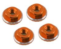 1UP Racing Lockdown UltraLite 4mm Serrated Wheel Nuts (Orange) (4) (Yokomo YZ-2 CAL2)