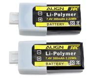Align 2S1P LiPo Battery 30C (7.4V/300mAh)