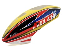 Align T-Rex 470L Painted Canopy (Yellow/Red/Blue)