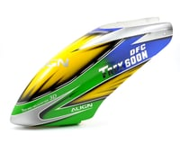 Align 600N DFC Painted Canopy (Blue/Green/Yellow)