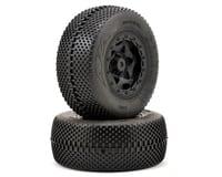 AKA Gridiron SC Pre-Mounted Tires (SC5M) (2) (Black) (Team Associated SC10 4x4)