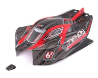 Arrma Typhon 6S BLX Pre-Painted Body (Red)