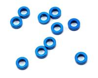 Team Associated SC10 5.5x2.0mm Aluminum Ball Stud Washer (Blue) (10)