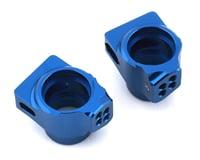 Team Associated RC10 B6.1 B6/B6D Factory Aluminum Rear Hub Set (Blue)