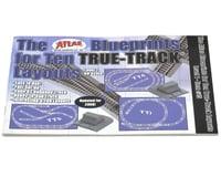 Atlas Railroad Blueprints for 10 True Layouts Book